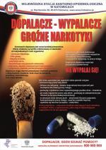 Plakat ŚPWIS - Dopalacze Wypalacze groźne narkotyki.jpg